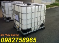 Cung cấp tank nhựa, thùng nhựa 1000 lít, bồn nhựa, thùng chứa hóa chất giá rẻ