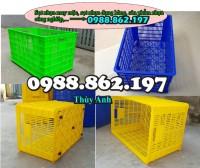 Thùng nhựa giá rẻ, sản xuất nhựa công nghiêp, sọt nhựa đựng hoa quả, sọt nhựa 5