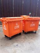 xe thu gom rác thải y tế