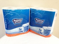 Khăn giấy đa năng Pulppy (2 cuộn)