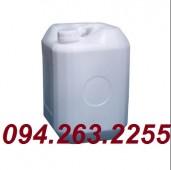 Can nhựa 20l, 30 lít, 25l, can đựng hóa chất, can giá rẻ, can vuông 20l