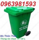 Bán thùng rác 90l, 120, 240l, thùng rác công cộng, thùng rác nhựa HDPE giá rẻ
