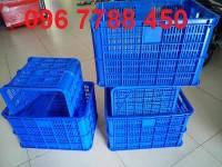 Bán rổ nhựa đan có bánh xe giá rẻ toàn quốc 096 7788 450