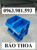 Khay nhựa đựng linh kiện có tắc kê chống tầng, kệ dụng cụ giá rẻ, khay linh kiện