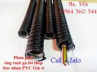 phân phối giá sỉ ống ruột gà lõi thép, ống ruột gà kẽm nhập khẩu