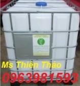 Bồn nhựa 1000 lít, thùng nhựa 1 khối, thùng đựng hóa chất giá rẻ