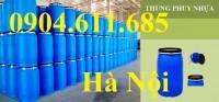 Thùng phuy nhựa 50 lít, 100 lít, 150 lít, 220 lít, thùng phuy làm bè giá rẻ