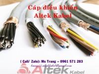 Nhà phân phối cáp điều khiển nhập khẩu Đức- Altek Kabel