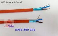 LSZH/AL Foil/LSZH/CU - Cáp chống cháy Altek Kabel 2 core x 1.5 mm2