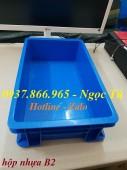 Thùng đựng B2 dụng cụ phụ tùng kèm nắp, thùng nhựa giá tốt nhất Hà Nội