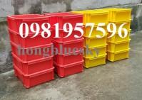 Thùng nhựa - sản phẩm chuyên dụng trong các nhà máy, xưởng sản xuất, cơ khí