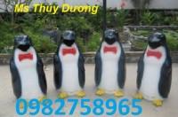 Thùng rác con gấu, thùng rác hình chim cánh cụt, thùng rác nhựa HDPE giá rẻ