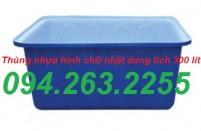 thùng nhựa 300l
