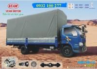 Xe tải veam 990kg, xe tải veam bull 2t5