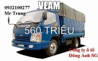 Cần bán gấp xe tải Veam camel 4t5 thùng dài 6m2