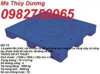 Cung cấp Pallet nhựa giá rẻ, pallet nhựa liền khối, pallet nâng hàng