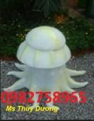 thùng rác hình con bạch tuộc giá rẻ