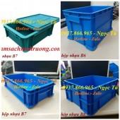 Thùng đựng B6, B7, B8 thùng đựng dụng cụ phụ tùng B7 có nắp, thùng nhựa giá tốt