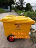 Xe thu gom rác 660 lít giá bao nhiêu???