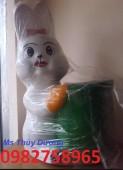 thùng rác hình con thỏ