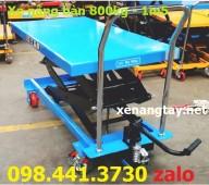 Xe nâng mặt bàn 800kg-1m5, xe nâng bàn 800kg 1m5 nhập khẩu - Hotline: 098 441 37
