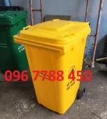 Bán thùng rác nhựa 240 lít giá rẻ toàn quốc.