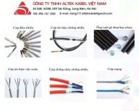 Cáp báo cháy Altek Kabel 4x0.22, 6x0.22, 8x0.22 hàng chính hãng