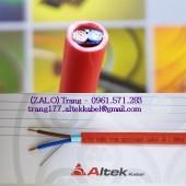 Cáp chống cháy chống nhiễu 2x2.5mm2 Altek Kabel
