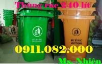 Chuyên bán thùng rác 120 lít giá rẻ- Thùng rác 240 lít giá sỉ thấp nhất