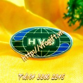sản xuất huy hiệu cài áo, logo đeo áo công ty sản xuất huy hiệu