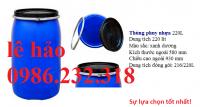 thùng phuy nhựa, thùng phuy 150l, thùng phuy 220l, thùng nhựa đựng hóa chất, thù