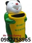 Thùng rác hình con thú, thùng rác công cộng, thùng rác nhựa giá rẻ