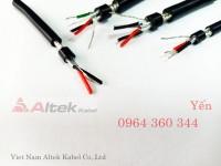 Cáp tín hiệu rs485, cáp tín hiệu âm thanh Altek Kabel