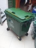 Nơi bán thùng rác nhựa 660 lít có 4 bánh xe giá sĩ tại Q12.