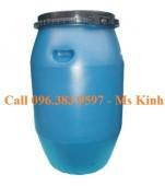 bán thùng phuy nhựa siêu bền, giá thùng phi nhựa 50 lít, nơi bán thùng phuy cũ