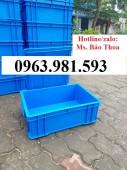 Thùng nhựa có nắp đậy, thùng nhựa B4, thùng nhựa đựng linh kiện, thùng nhựa