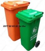 bán thùng rác 120l giá rẻ tại bình dương lh 0977828326ms thu