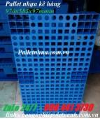 Pallet nhựa kê hàng 970x585x95mm