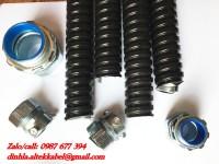 Phân phối ống ruột gà- Ống thép luồn dây điện bọc nhựa PVC nhập khẩu