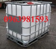 Bồn chứa hóa chất, bồn chứa nước, bồn nhựa 1000 lít giá rẻ