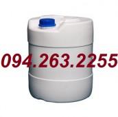 Can 30 lít, can 20 lít, can 25 lít, can đựng hóa chất, can nhựa giá rẻ