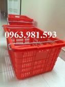 Cung cấp sóng nhựa có quai sắt hs011,rổ nhựa đan,thùng nhựa rỗng tại hà nội.