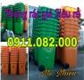 Sỉ lẻ thùng rác 240 lít giá rẻ tại hậu giang- thùng rác nắp kín- lh 0911.082.000