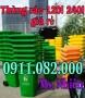 Chuyên bán thùng rác 240 lít giá rẻ tại vĩnh long- thùng rác môi trường- lh 0911