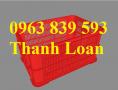 Rổ nhựa công nghiệp, hộp nhựa đan giá cực rẻ - 0963.839.593 Thanh Loan