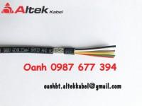 Dây cáp tín hiệu có lưới chống nhiễu, dây cáp tín hiệu tiết diện 0.22mm, dây cáp