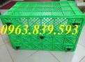 Rổ nhựa đựng nông sản - Sóng nhựa đan - sóng nhựa có bánh xe - LH: 0963.839.593