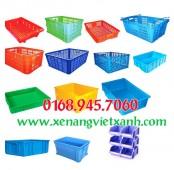 Thùng nhựa đan lưới, thùng nhựa bít, thùng nhựa hở giá thành rẻ hàng chất lượng