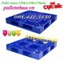 Pallet nhựa 1200x1200x150mm, pallet nhựa kích thước lớn giá rẻ - giảm giá sốc