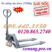 Giảm giá cực sốc xe nâng tay inox 2500kg hiệu Gamlift – Mỹ call 0984423150